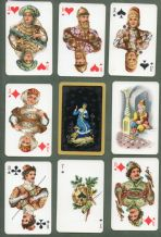 Collectible Russian   playing cards The Hunting deck,